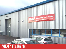 Exterior View Of MDP Falkirk Branch
