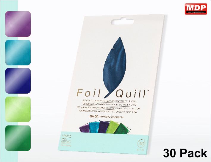 Foil Quill Folie - Peacock